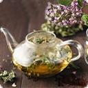 С травами чай