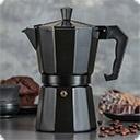 Гейзерные кофеварки Гейзерная кофеварка - кофеварка, в которой кофе заваривается проходящей под давлением водой. Снизу вверх.